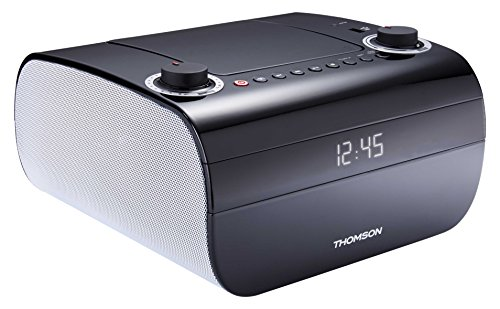 Thomson RCD300U - Radio Despertador con Lector de CD y Mp3