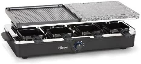 Tristar RA-2992 Raclette, Grill a Pietra, 1300 W