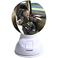 Oyedens–Specchio Sedile posteriore sicurezza ventosa auto vista posteriore regolabile - Auto Per Bambini View Mirror