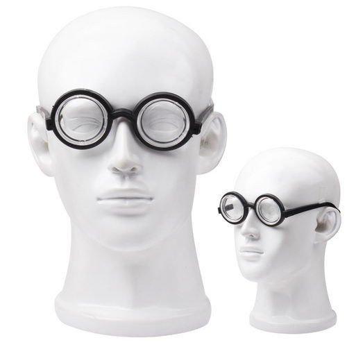 Scherzbrille Nerd Halloween Karneval Fasching Horror Schockbrille Kostüm Zombie, Brille:Professor (Nerd Paar Kostüm)