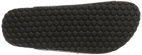 Softwaves Damen 274 372 Pantoletten Schwarz (Black)