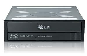 LG CH12NS30.AUAU10B Combo Enregistreur Blu-Ray Vitesse 12x Noir