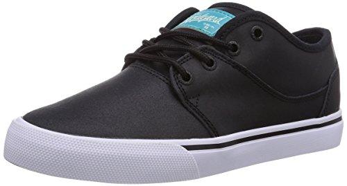 Globe Mahalo, Unisex-Erwachsene Sneakers, Schwarz (distressed black 10227), 43 EU (Turnschuhe Distressed Leder)