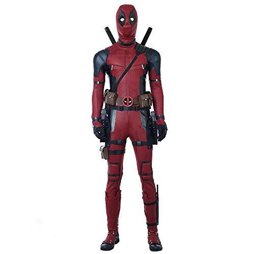 Glam Cos Dead Pool 2 Kostüm für Männer, Ryan Reynolds - - XXX-Large