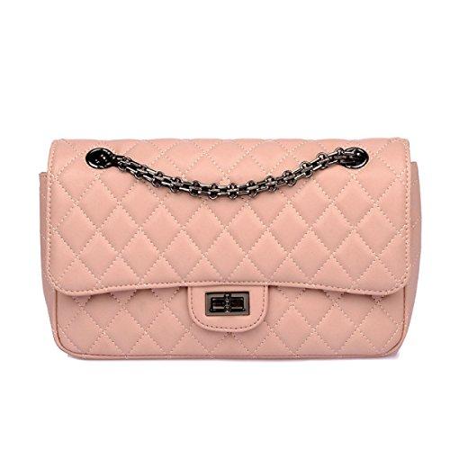 449d26e0fa7ea PACK Europa Die Vereinigten Staaten Leder Handtaschen Mode Lingge Kette  Schulter Portable Satchel Damen Taschen