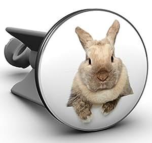 Plopp Waschbeckenstöpsel Rabbit, Stöpsel, Excenter Stopfen, für Waschbecken, Waschtisch, Abfluss