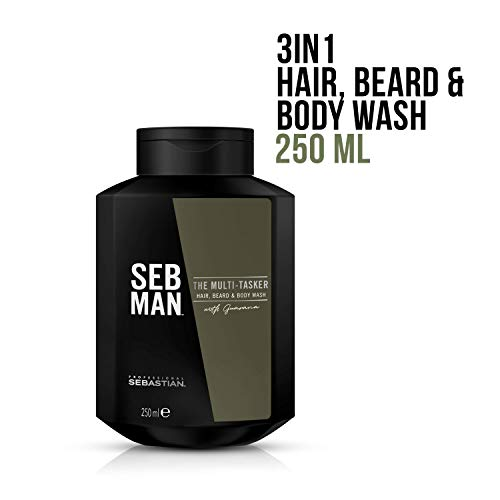 92123796743d SEB MAN The Multi-Tasker 3 In 1 Hair Beard and Body Wash 250 ml