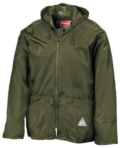 Regenanzug ( Jacke und Hose), absolut wasserdicht ,olive, XL XL,Olive (Absolute Outdoor-jacke)