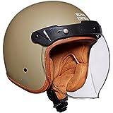 Royal Enfield Bobber HEAW17001 Open Face Helmet (Desert Storm, M)