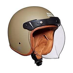 Royal Enfield Desert Storm Open Face with Visor Helmet Size (M)58 CM (RRGHEH000007)