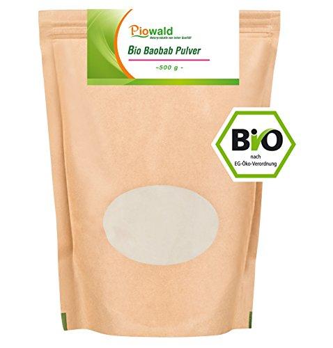 BIO Baobab Frucht - 500g Pulver -
