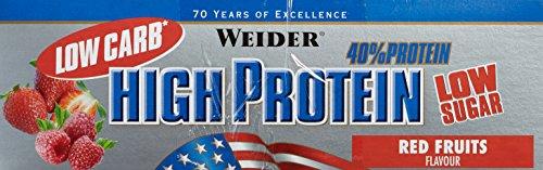 WEIDER Low Carb 40 percent, Riegel Mix-Box
