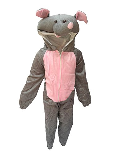 KFD Elephant fancy dress for kids,Wild animal Costume for Annual function/Theme Party/Competition/Stage Shows/Birthday Party Dress