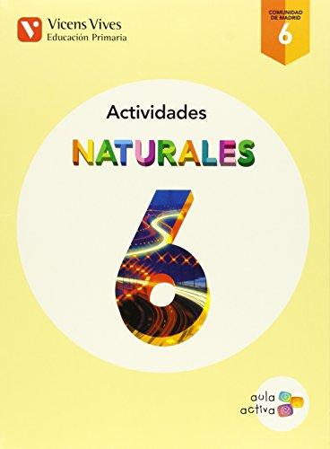 Naturales 6 Madrid Actividades (aula Activa) - 9788468230283