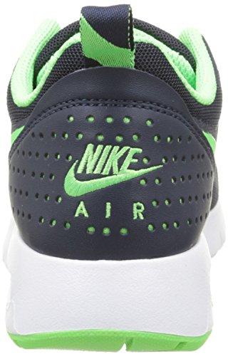 Nike Jungen Air Max Tavas Outdoor Fitnessschuhe, Schwarz Negro / Verde / Blanco (Obsidian / Voltage Green-White)