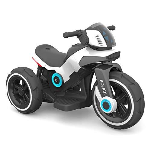 Baby-pur Eléctrico Infantil Vehículo Infantil Moto Trike Vehículo Eléctrico con Luz y Sonido