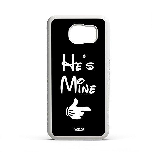 *Cover Case Handyhülle Partnerlook Bumper Hülle Liebe Pärchen Valentinstag Samsung S6*