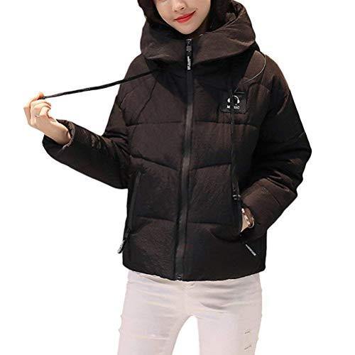 Giacca trapuntata donna autunno invernali leggermente imbottito cappotto eleganti abbigliamento taglie forti retro casual moda cappotti invernali monocromo incappucciato a cerniera outerwear giacca