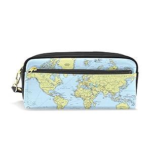 Estuche, pluma bolsa Maquillaje bolsa cartera gran capacidad mapa de los estudiantes