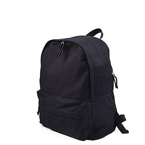 umhängetasche männer und frauen mit freizeit - rucksack befinden, wasserdicht Schwarz