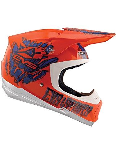 EVS Orange 2018 T5 Egon Mx Helm (Medium, Orange) (Evs Helm)