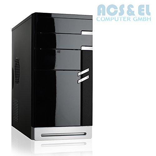 XeRcoN - Flüster PC-System Intel 2,58GHz   4GB DDR   500GB Festplatte   integrated Intel HD Graphics   24xDVD-RW   Asrock Mainboard   5.1 Sound   420W Netzteil, silent [98526_OHNE]