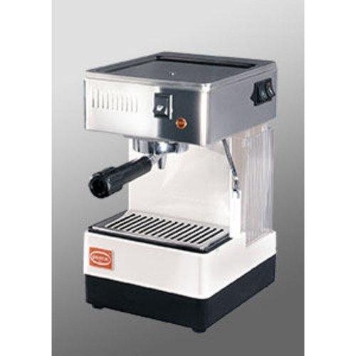 Quick Mill Modell 0810 - Edelstahl-Weiß - Kaffee + Heisswasser + Dampf - Einkreis