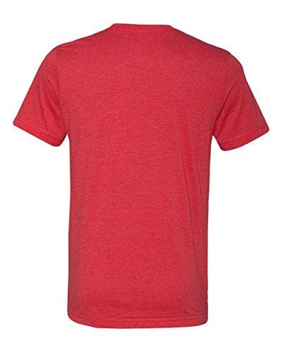 Belowty Bella + Canvas Unisex Jersey Short Sleeve Tee Heather Red