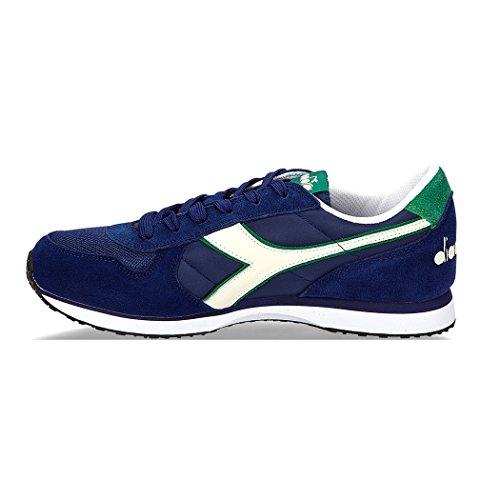 Diadora K-Run II, Sneakers Basses Homme Bleu