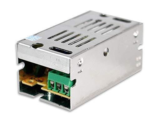 Vetrineinrete® alimentatore stabilizzato switching 12v 1a trimmerabile 220v 1 a ampere d16