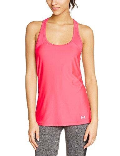 Under Armour, Canotta fitness Donna HG Alpha, Rosa (Pink Shock), M