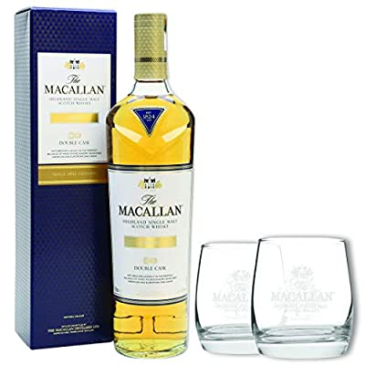 The Macallan Gold Limited Edition Scotch Whisky Christmas Gift Set