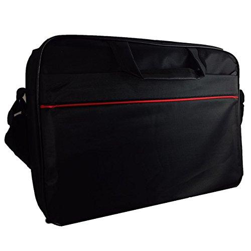 Laptoptasche für Odys Trendbook 14 Pro 35,8 cm (14,1 Zoll) Businesstasche / Aktentasche / Notebooktasche mit Schultergurt - LB Schwarz 3
