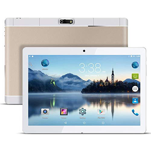 Android Tablet PC 9.6 Zoll 3G Tablet, Qimaoo Android 7.0 1G RAM +16G ROM Quad Core CPU, IPS HD (1280 x 800), Dual Kamera/ SIM Tablets Unterstützung WiFi /GPS/Bluetooth