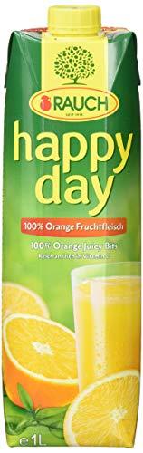 Happy D Orangensaft mit Fruchtfleisch, 12er Pack (12 x 1.0 l)