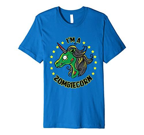 Zombie Einhorn Halloween Shirt zombiecorn Kostüm T-Shirt