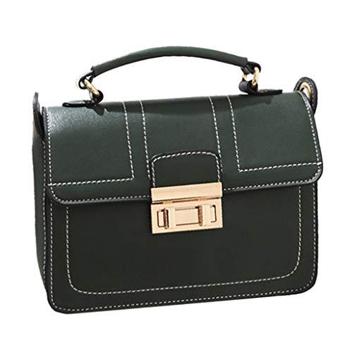NMERWT Frauen Umhängetasche Kleine Quadratische Tasche Handtasche Damen Wild Crossbody Casual Messenger Handtasche Geldbörse für Mädchen Schultertaschen - Messenger Tasche Ogio