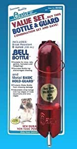Kordon/Oasis (Novalek) SOA80308 Bell Bottle and Hold Guard Small Animal Value Set, 8-Ounce, Colors May Vary by TopDawg Pet Supply