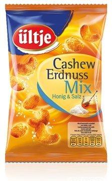 ültje Cashew Erdnuss Mix Honig Salz, 1er Pack (1 x 200 g) (Salz Und Honig)