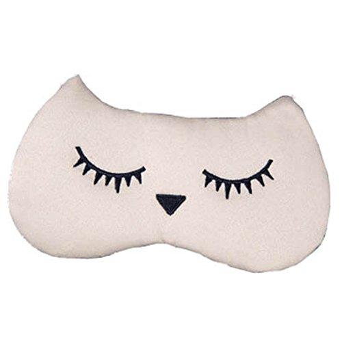 Schlafmaske Schlafenaugen-Abdeckung Super-Smooth Augenmaske für Reise, Aprikose