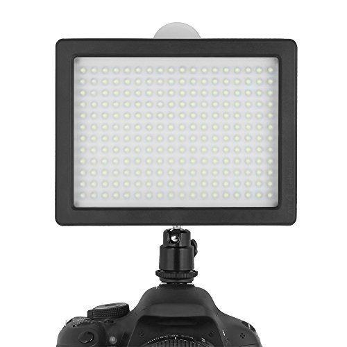 Chromo Inc. 160 LED CI-160 Dimmable Ultra High Power Panel Digital Camera / Camcorder Video Light LED Light for Canon Nikon Pentax Panasonic SONY Samsung and Olympus Digital SLR Cameras