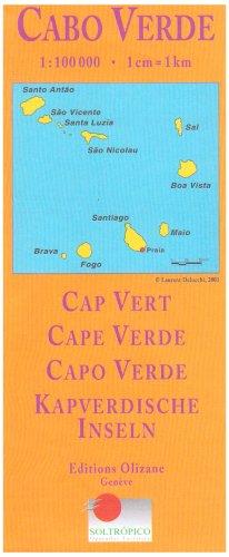 Carte géographique : Cap vert 1/100 000
