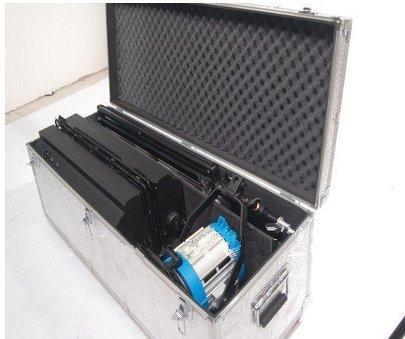 Gowe 2Pcs 4Bank Studio Video fluoreszierend Dauerlicht + 1PCS 650W Fresnel-Scheinwerfer Tungsten Light Kit - Tungsten Light Kit