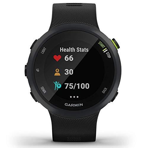 Garmin Forerunner 45 - GPS-Laufuhr im leichten Design, Trainingspläne, Fitness Tracker, Herzfrequenzmessung - 2