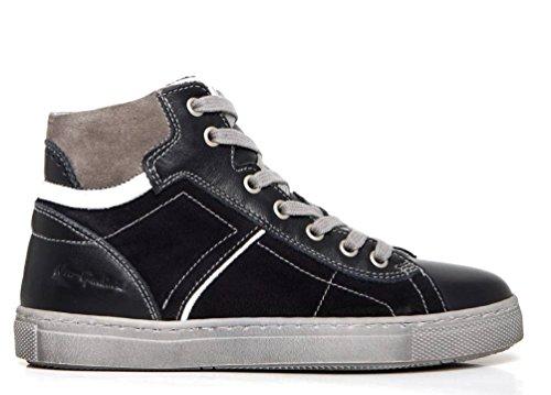 Nero Giardini Junior - Zapatos de Cordones de Piel Para Mujer Negro Size: 31 0G3jy4
