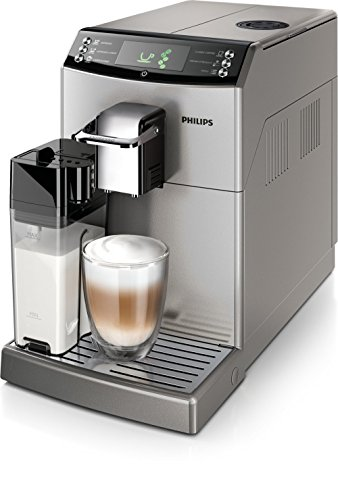 Philips Serie 4000 Essence Duo Carafe Argent, 15 bars, technologie breveté Coffee...