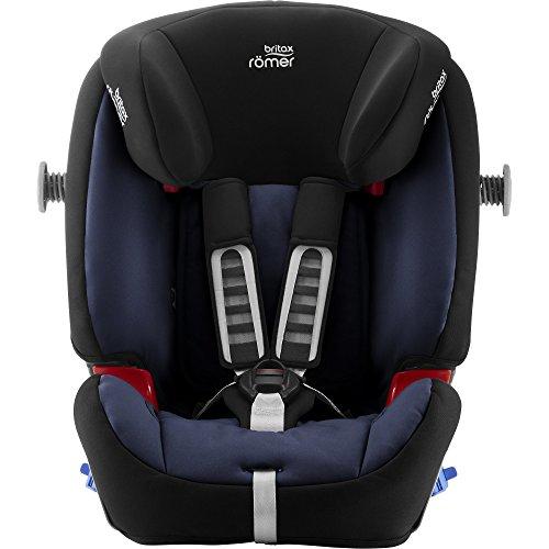 Britax Römer MULTI-TECH III Car Seat (9 Months-6 Years |9-25 kg), Moonlight Blue
