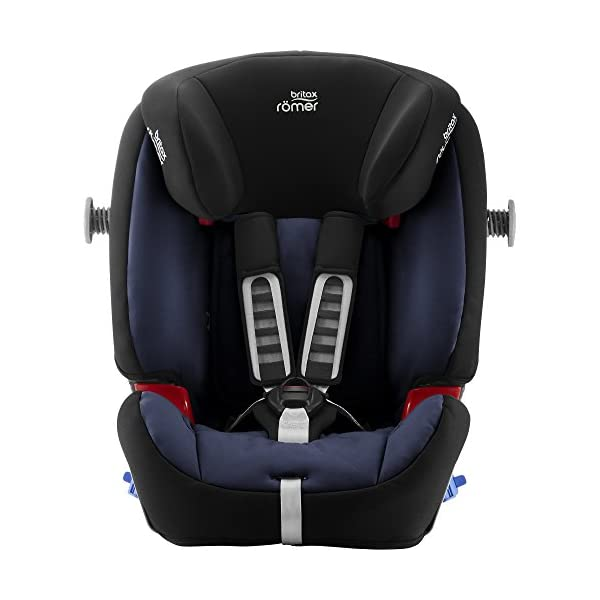 Britax Römer MULTI-TECH III Car Seat (9 Months-6 Years  9-25 kg), Moonlight Blue  Advanced side impact protection - the SICT feature offers superior protection to your child in the event of a side collision Extended rearward facing - rearward facing car seats offer the best protection in the event of a frontal collision - the most frequent type of accident on the roads Deep, protective side wings - the soft, padded side wings act as a protective cocoon that helps to absorb the force from a side impact, reducing the risk of injuries to your child 6