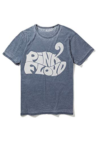 Recovered Pink Floyd Animals 1972 Logo Blue T-Shirt, S to XL
