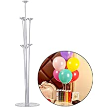 Soporte para globos de plástico, transparente, reutilizable, resistente, para exhibir globos,